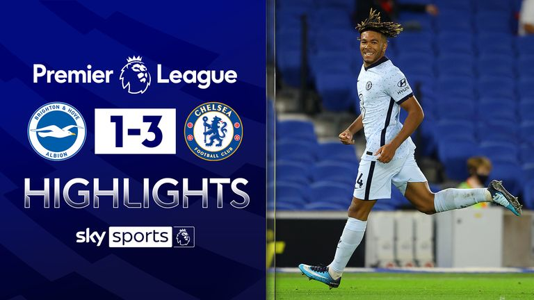 FREE TO WATCH: Highlights from Chelsea's win over Brighton in the Premier League