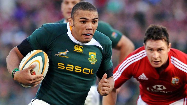 Bryan Habana looks ahead to the 2021 British & Irish Lions series against the Springboks
