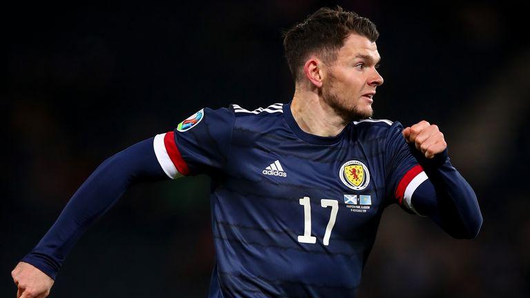Oliver Burke has 12 caps for Scotland