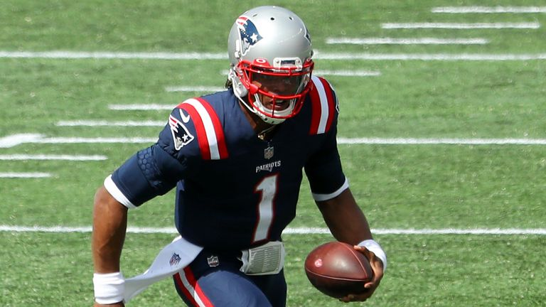 Watch the best plays from Patriots quarterback Cam Newton in the Week One win over the Dolphins.