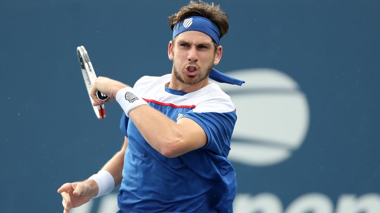 Cam Norrie dispatched Federico Coria to reach the third round in New York as his dream run continues