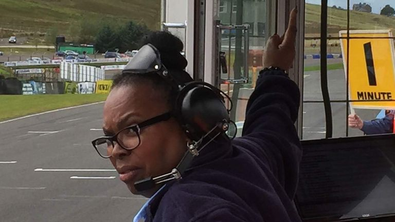 Glenn has set up her own racing academy to find the next Lewis Hamilton