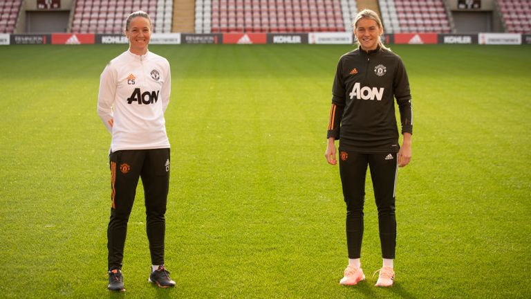 Casey Stoney has described Alessia Russo as a 'real talent'