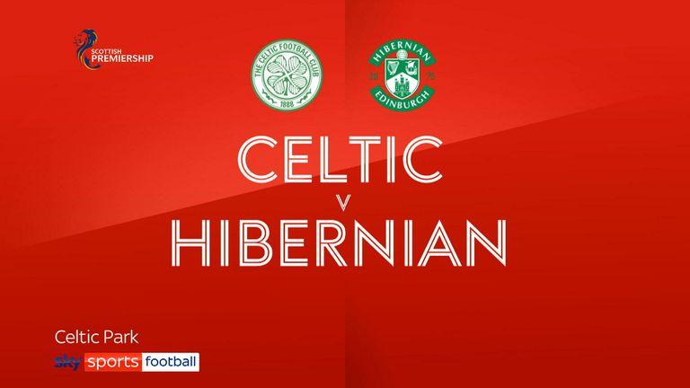 Celtic v Hibernian badge