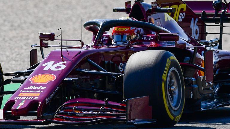 Tuscan Gp Ferrari Debut New Look Burgundy Livery To Mark 1000th Race F1 News