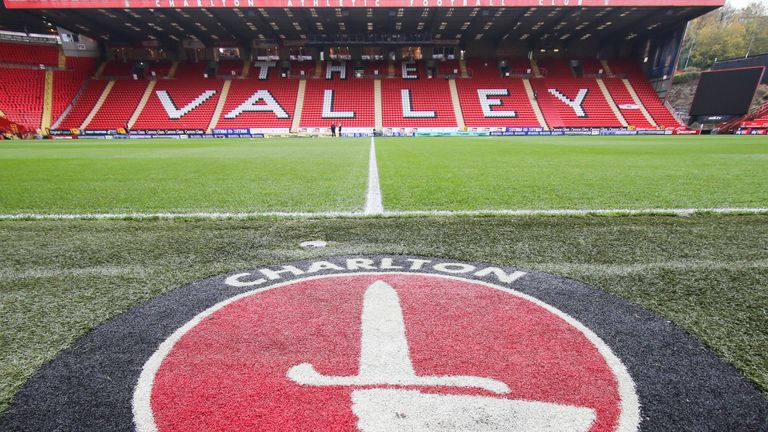 General view of The Valley, home of League One side Charlton Athletic
