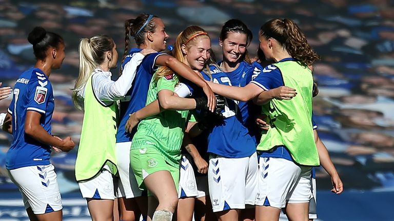 Women S Fa Cup Round Up Everton Birmingham And Man City Into Semis Football News Sky Sports