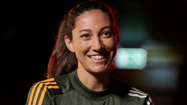 Christen Press signed for Manchester United on a one-year deal from National Women's Soccer League side Utah Royals