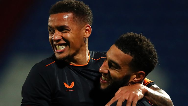 Both Connor Goldson and James Tavernier scored for Rangers