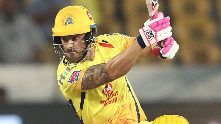 Chennai Super Kings' Faf du Plessis will be aiming to go one better than last year
