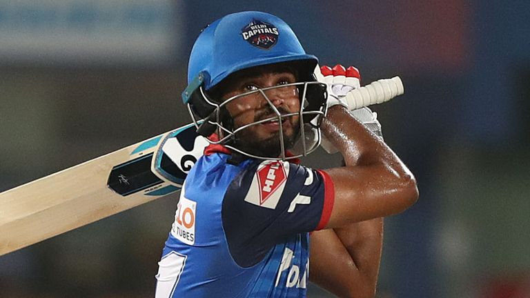 Shreyas Iyer (R) led Delhi Capitals to a third-place finish in 2019