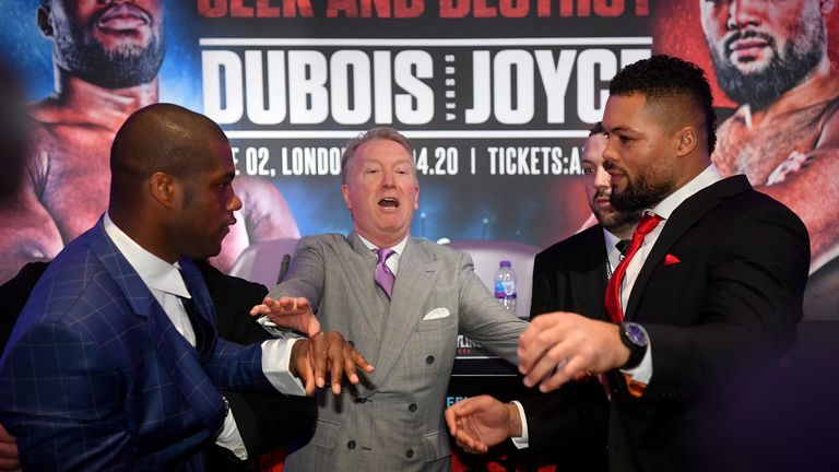 Dubois and Joyce risk their unbeaten records
