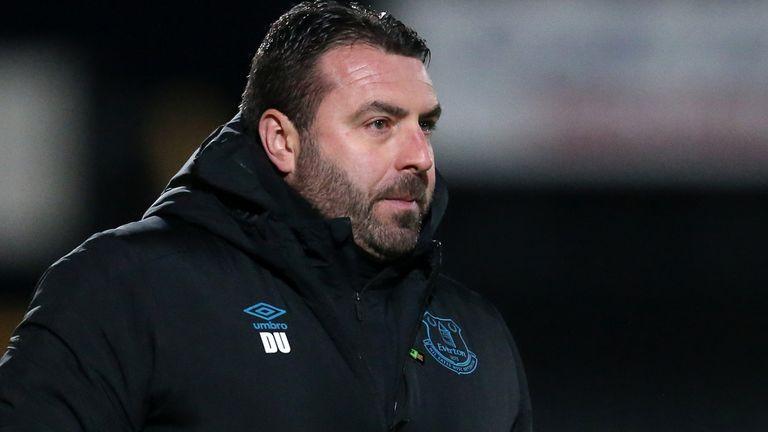 Les responsabilités de David Unsworth ont été augmentées à Everton
