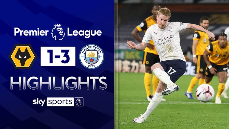 FREE TO WATCH: Highlights from Manchester City's win over Wolves in the Premier League