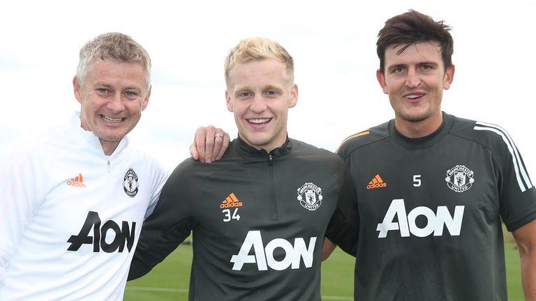 Solskjaer believes Van de Beek is an excellent addition to Manchester United's squad.