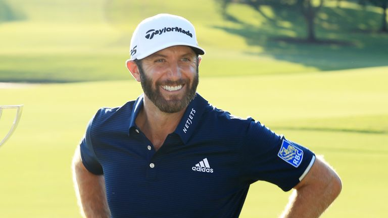 Dustin Johnson named PGA Tour Player of the Year for second time ...