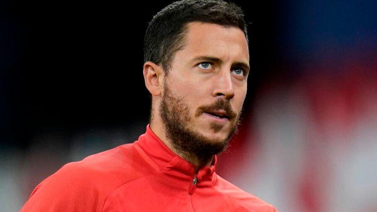 Eden Hazard was an unused substitute during Belgium's opening two Nations League fixtures