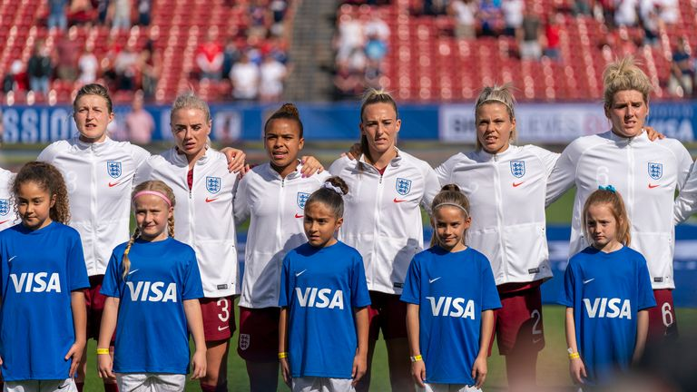 England women have been paid the same as the men since January