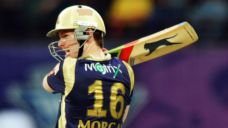 Eoin Morgan smashed a superb counter-attacking 40 but it wasn't enough for his KKR side