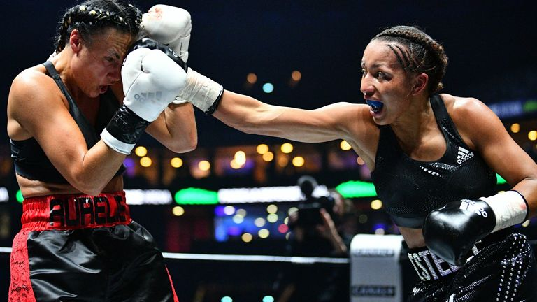 Estelle Yoka-Mossely is undefeated as a pro