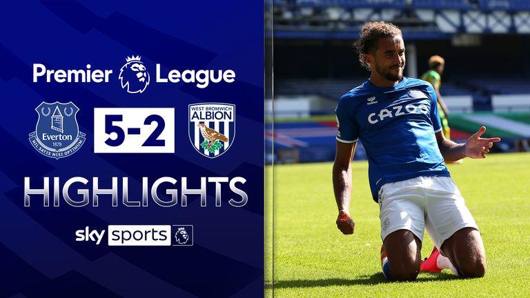 Everton v WBA