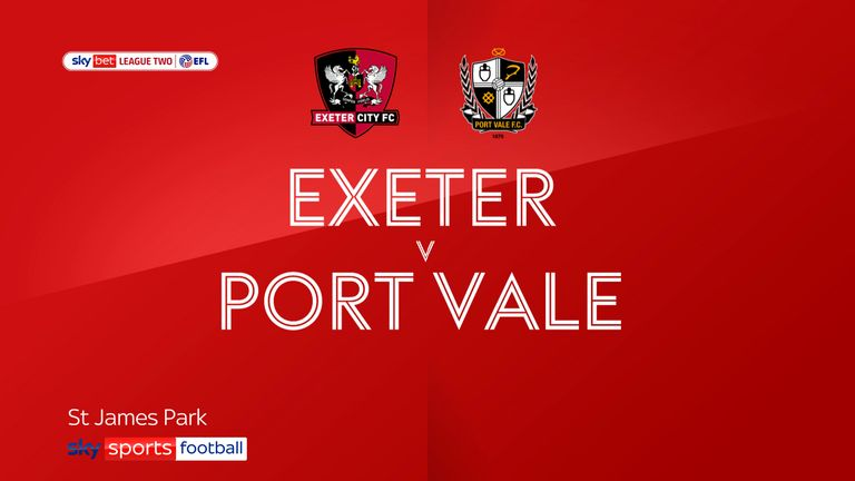 Exeter Port Vale