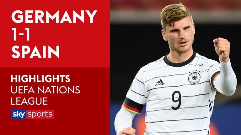 Germany 1 1 Spain Match Report Highlights