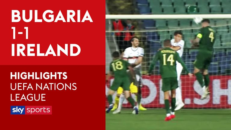 Highlights from the UEFA Nations League Group B4 match between Bulgaria and Republic of Ireland