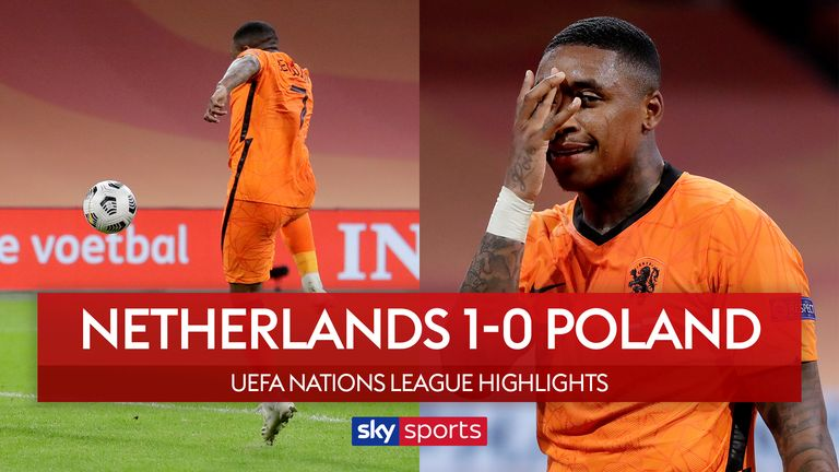 Highlights from the UEFA Nations League Group A1 match between Netherlands and Poland.