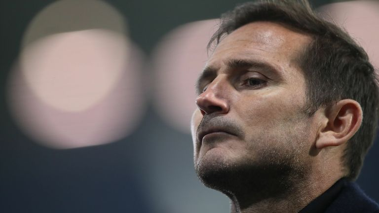 Chelsea boss Frank Lampard speaks to the media after the team's 3-3 draw with West Brom