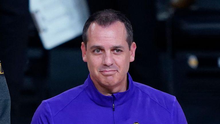 Frank Vogel, LA Lakers head coach