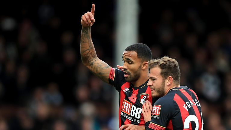 Ryan Fraser and Callum Wilson