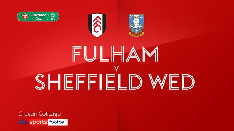 Fulham v Sheffield Wed badge