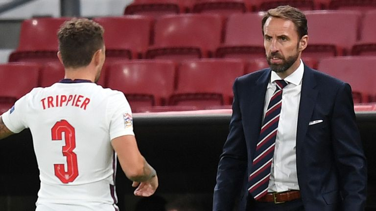 Gareth Southgate witnessed a tentative England showing against Denmark