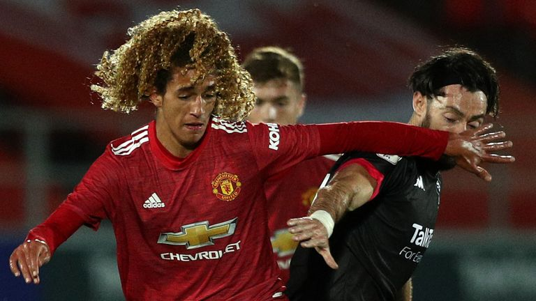 Salford City were unable to contain Manchester United's youngsters
