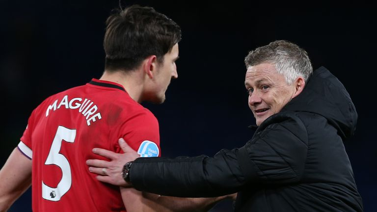 Ole Gunnar Solskjaer says Harry Maguire has his full support and will remain Manchester United captain.