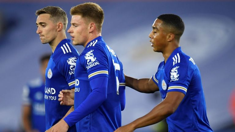 Barnes' strike brought Leicester level