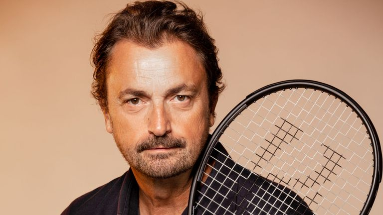 Henri Leconte is concerned but believes it is better to have spectators at this year's French Open (photo credit: Christian Wilmes)