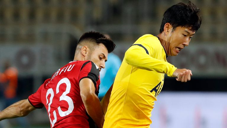 Heung-Min Son was vital for Spurs as they won in North Macedonia