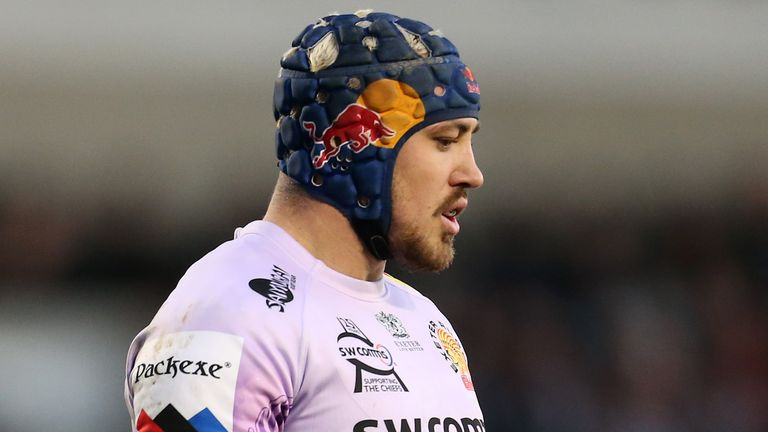 Jack Nowell scored a fantastic solo try to give Exeter breathing room