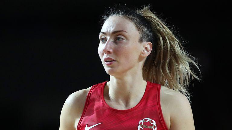 Jade Clarke, England Netball