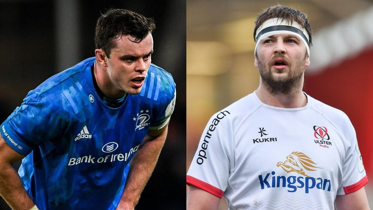 James Ryan (left) and Iain Henderson (right) are back from injury to start Saturday's PRO14 final
