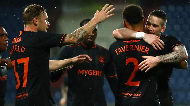 James Tavernier netted his 50th Rangers goal from the penalty spot