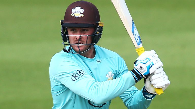 Jason Roy made 56 as Surrey eased past Kent at the Kia Oval