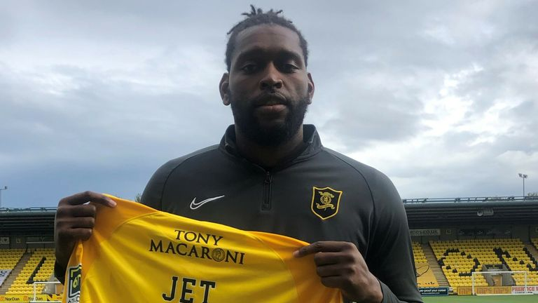 Emmanuel-Thomas has penned a short term contract at Alderstone Road