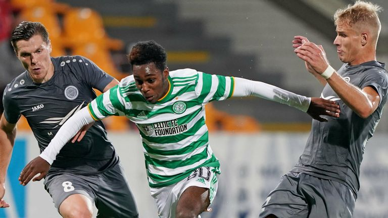 Jeremie Frimpong was impressive for Celtic after coming on as a substitute