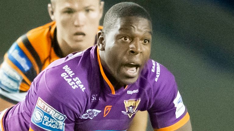 Jermaine McGillvary plated a starring role in Huddersfield's win over Castleford