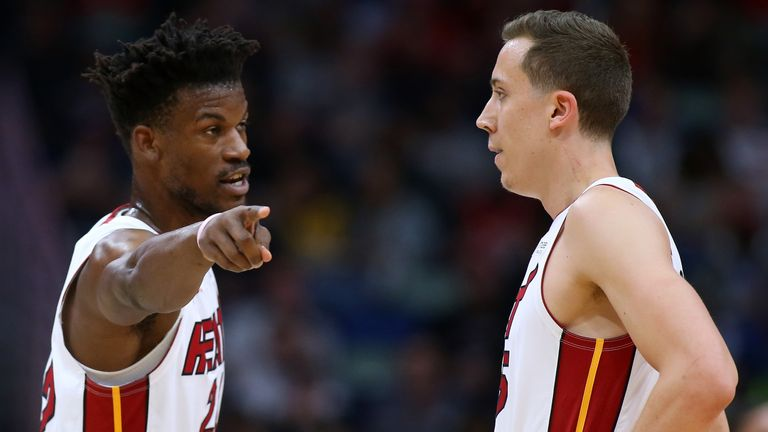 Miami Heat Reaping Rewards Of Empowering Duncan Robinson And Maximising His Elite Shooting Skills Nba News Sky Sports