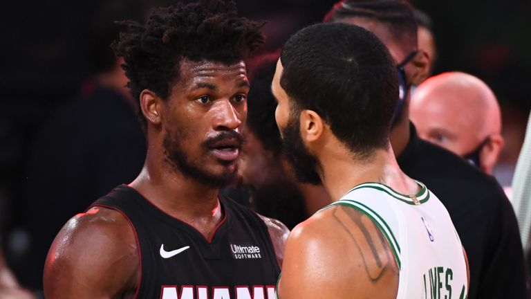Nba Finals 2020 Jimmy Butler Will No Longer Be Underestimated After Leading Miami Heat To Finals Nba News Sky Sports