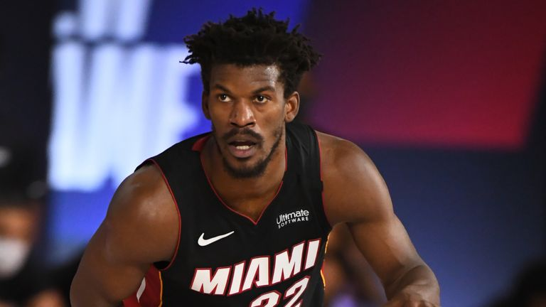 Jimmy Butler poured in 40 points in Game 1